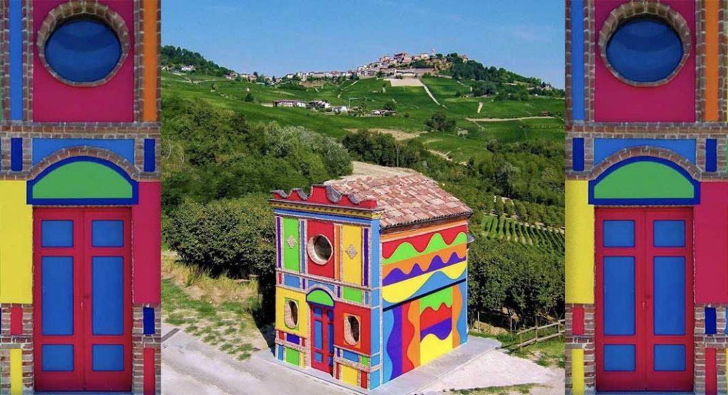 La Cappella del Barolo è la chiesa più colorata d'Italia
