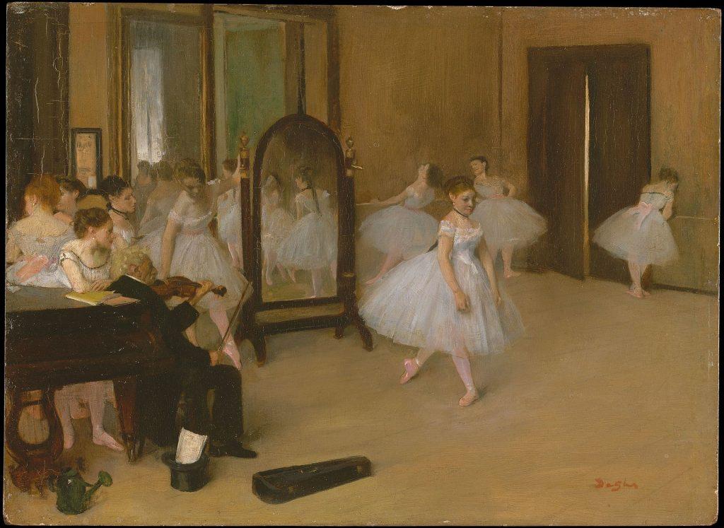 La classe di danza,