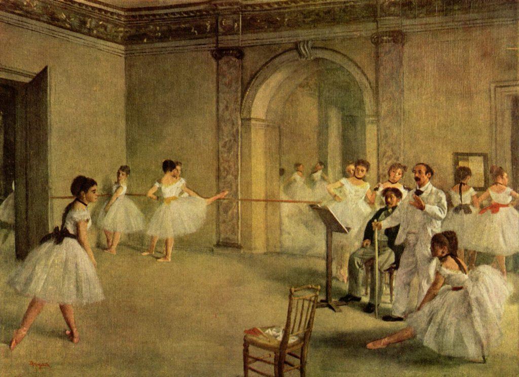 Il foyer della danza al teatro dell'Opéra