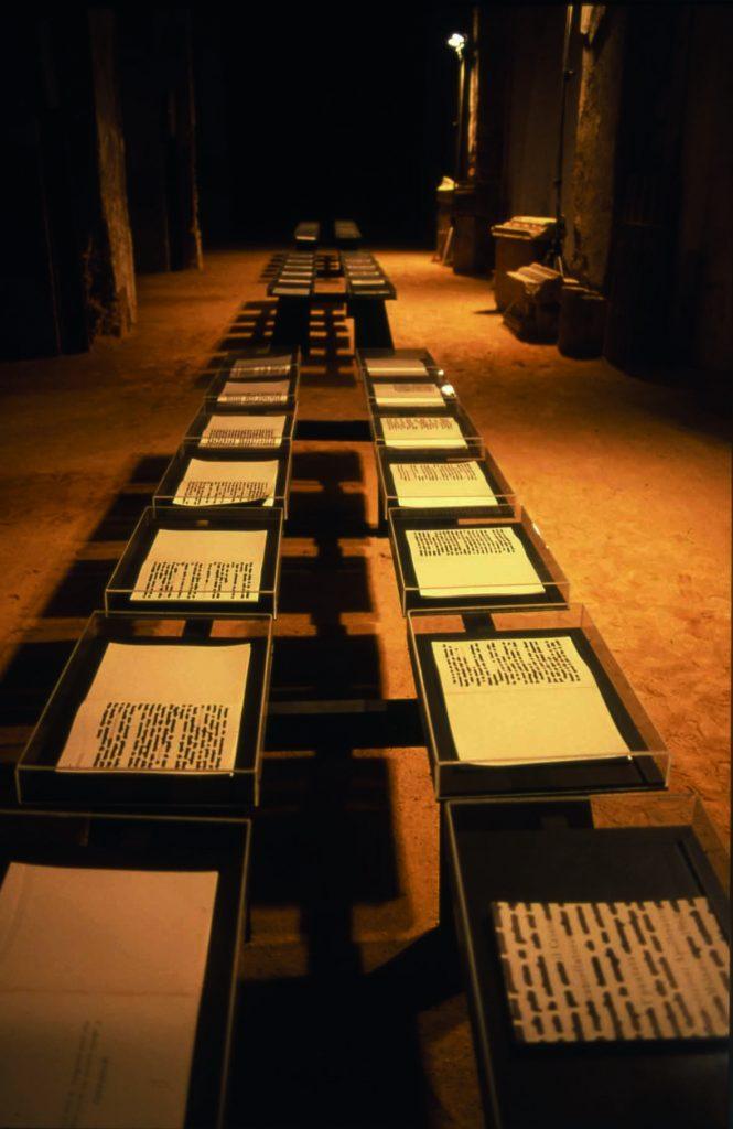 Il Cristo cancellatore 1968 installaz.