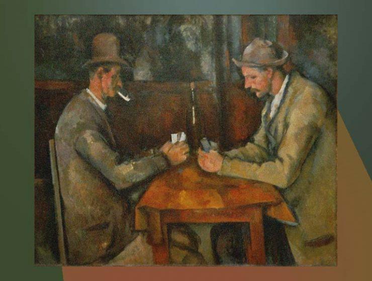 """""""I giocatori di carte"""" di Paul Cézanne, un quadro senza tempo"""