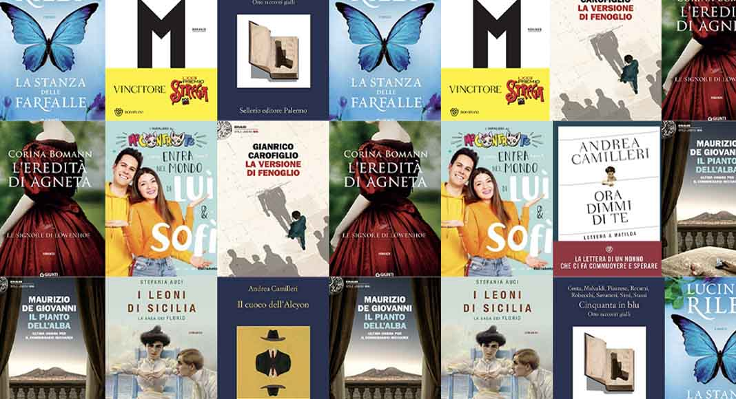 Classifica libri più venduti. Camilleri ancora in testa