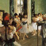 """""""La lezione di danza"""" di Edgar Degas, un quadro che sembra una fotografia"""