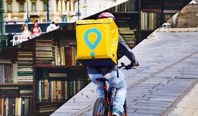 Il bookdelivery diventa realtà, i libri Feltrinelli arrivano su Glovo