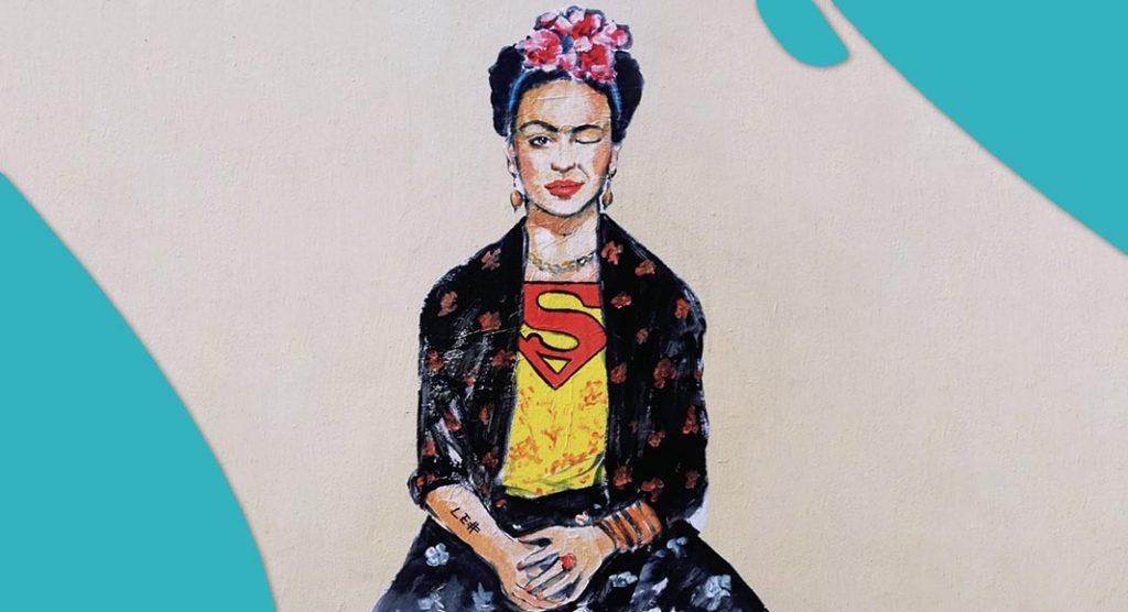 Icone della cultura in versione street art, ecco le opere di Lediesis