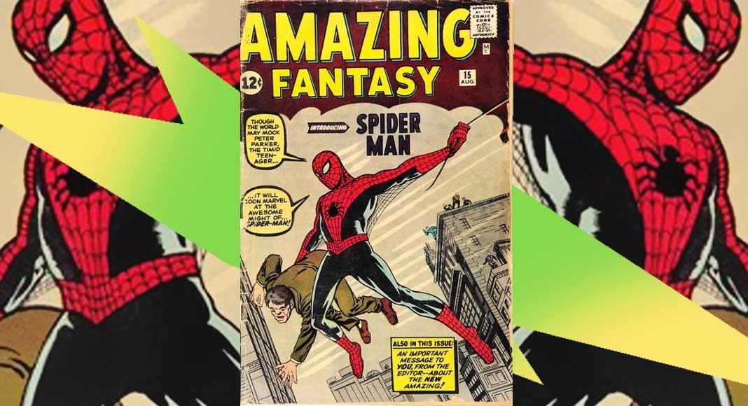 spiderman fumetto asta