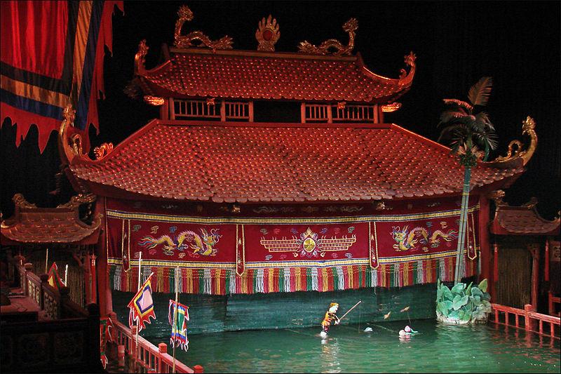 Teatro sull'acqua , Hanoi