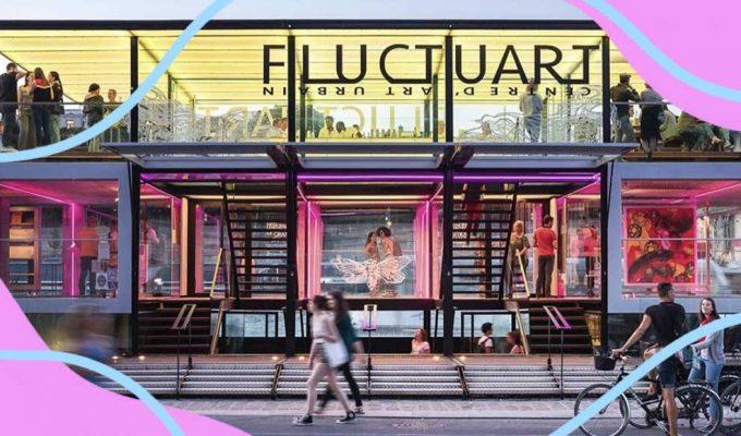 A Parigi, sulla Senna, apre Fluctuart il primo museo galleggiante al mondo dedicato alla street art