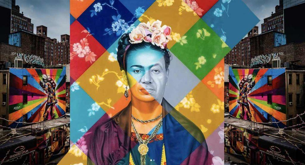 La street art di Eduardo Kobra, i murales che raccontano la società attuale