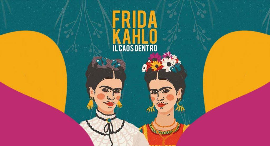 """La vita di Frida Kahlo e Diego Rivera nella mostra """"Il caos dentro"""" a Roma"""