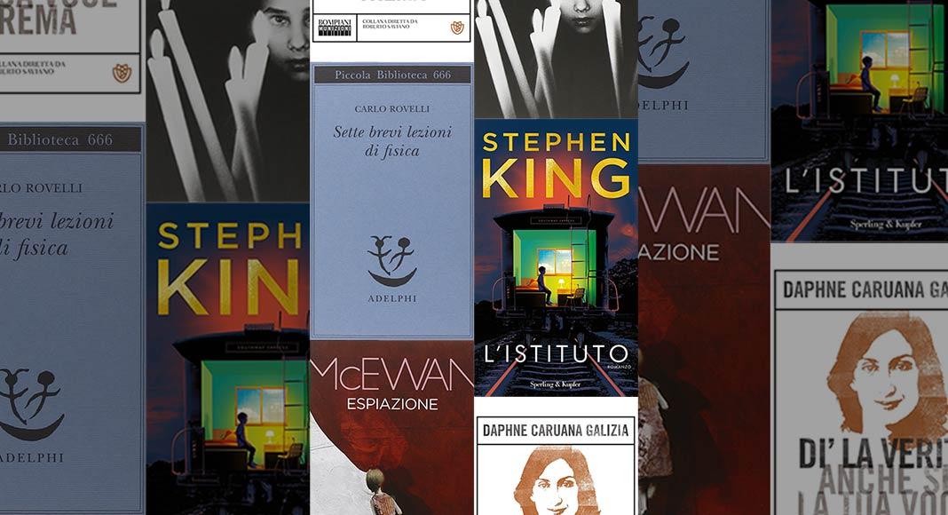 5 libri weekend 1