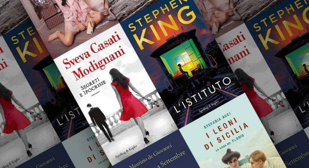 Classifica libri più venduti. In testa Sveva Casati Modigliani