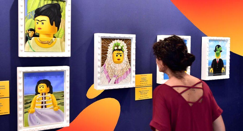 I LOVE LEGO, la mostra in cui i mattoncini diventano opere d'arte