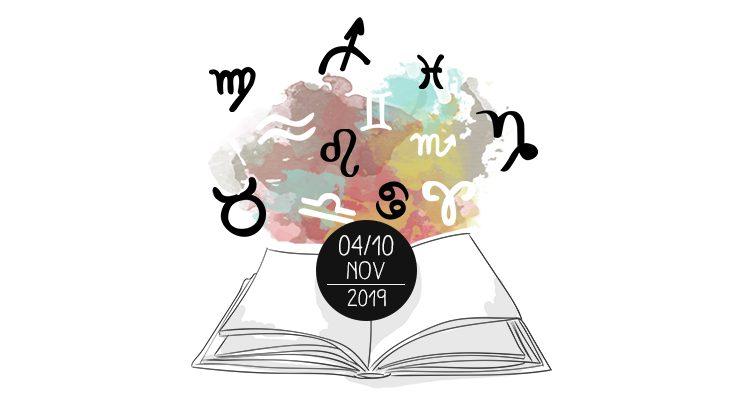 Oroscopo dei Libri - dal 4 al 10 novembre