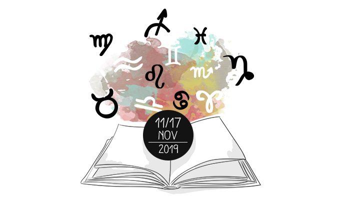 Oroscopo dei Libri - dall'11 al 17 novembre