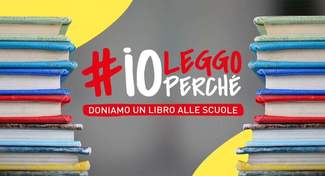 #IOLEGGOPERCHÉ, 1 milione di libri donato alla scuola