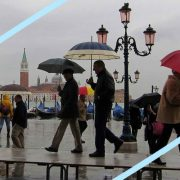Matera e Venezia, le bellezze italiane inondate dal nubifragio
