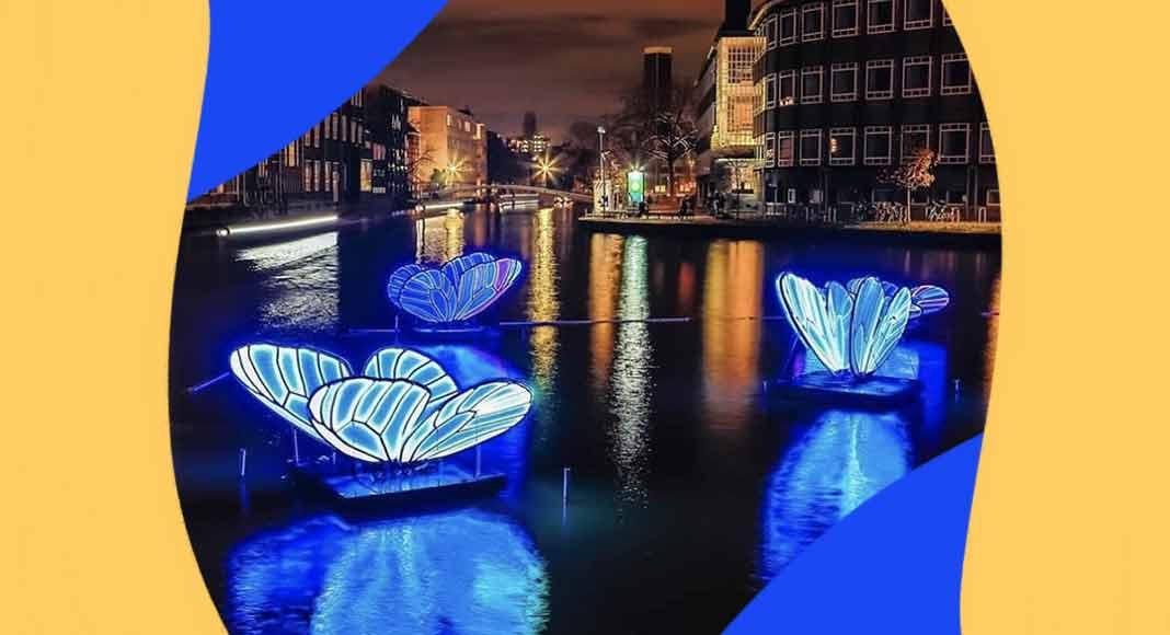 Amsterdam Light Festival, la magia delle luci nei canali olandesi