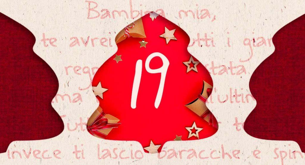 """Calendario dell'avvento. La poesia del 19/12 è """"Bambina mia"""" di Mariangela Gualtieri"""