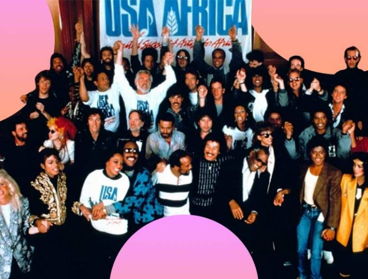 We are the world è la canzone che ci farà emozionare sempre