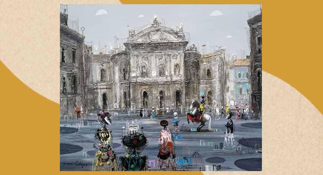 Jean Calogero, il pittore amato dai divi di Hollywood in mostra a Catania