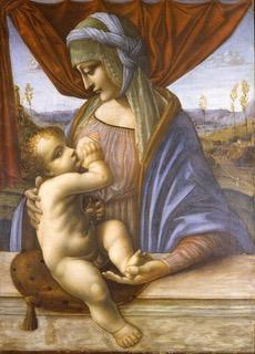 3. Museo Poldi Pezzoli Scuola Lombarda Madonna che allatta il Bambino