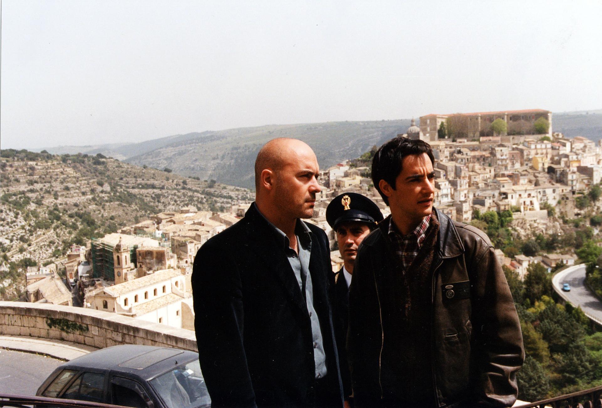 Il ladro di merendine 1999 Luca Zingaretti e Peppino Mazzotta