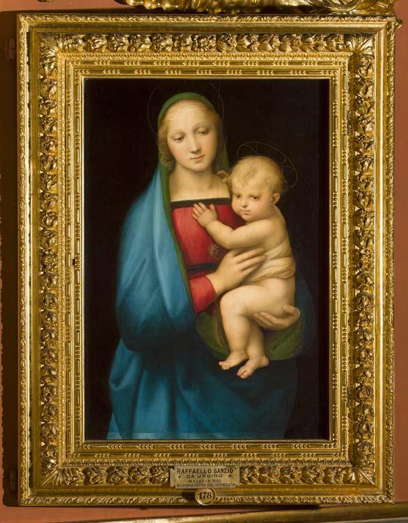 Raffaello-Madonna-del-Granduca--Uffizi