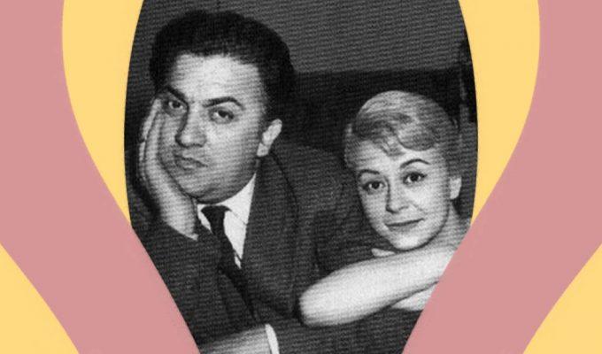 Federico Fellini e Giulietta Masina, l'amore oltre al set