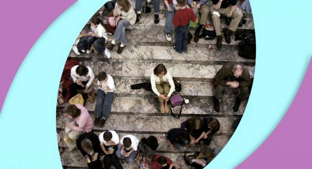 Come combattere la paura di essere esclusi dalla società