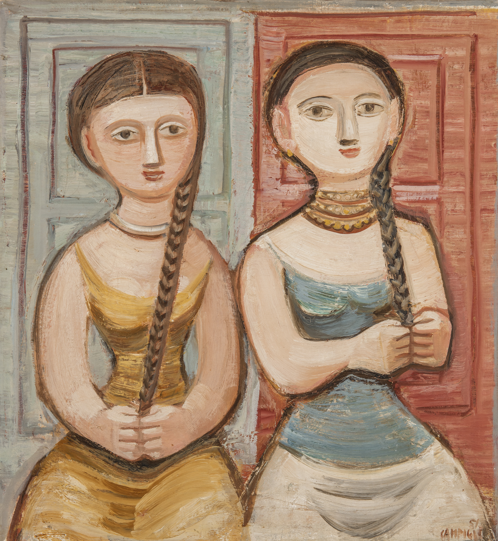 Due figure di Campigli