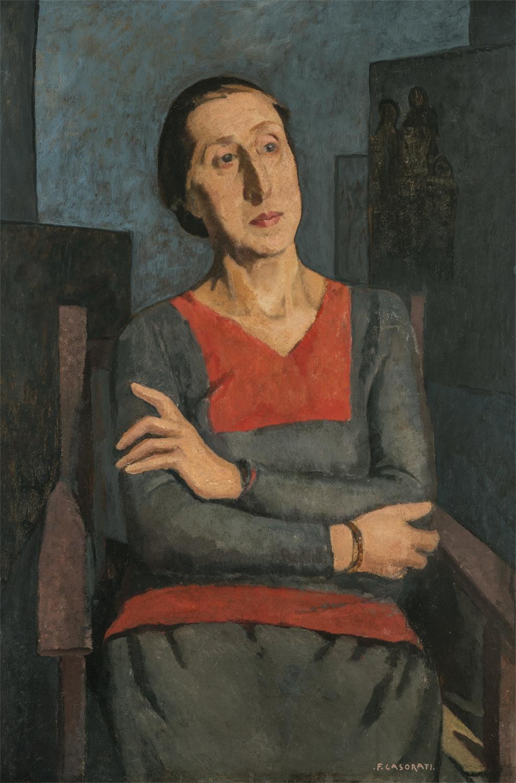 Ritratto della sorella Elvira - Felice Casorati