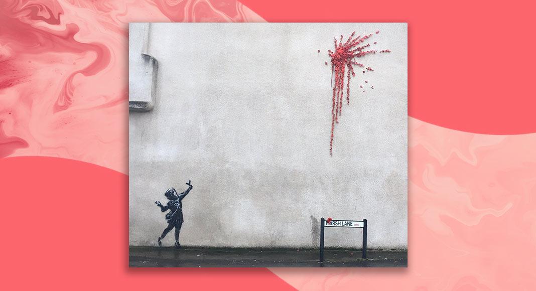 Un nuovo murale di Bansky per San Valentino