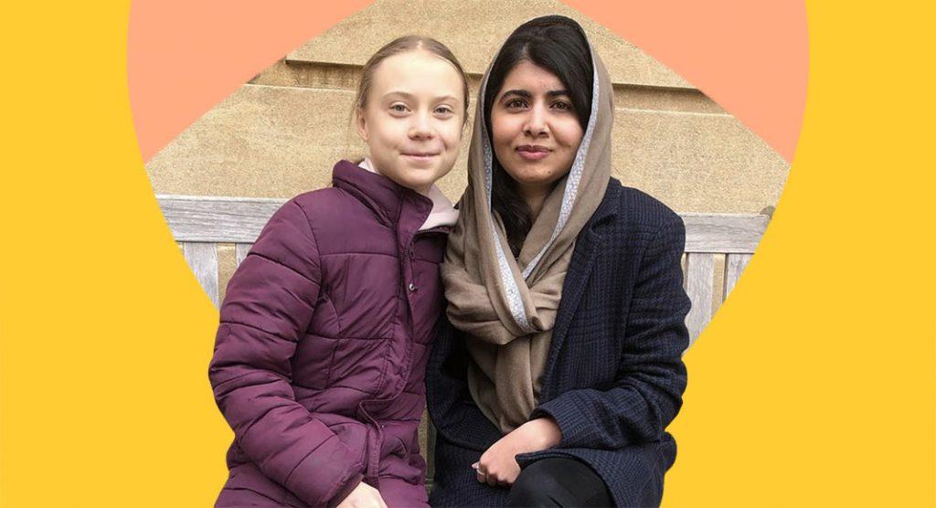 Greta Thunberg incontra Malala, i simboli dell'attivismo giovanile insieme ad Oxford