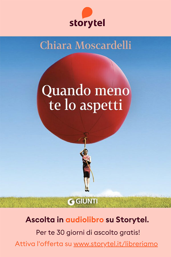 1 - Quando meno te lo aspetti - Chiara Moscardelli