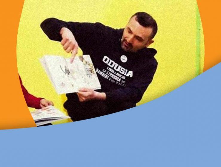 Leggere fiabe ai bambini su Facebook, l'iniziativa del libraio di Bari
