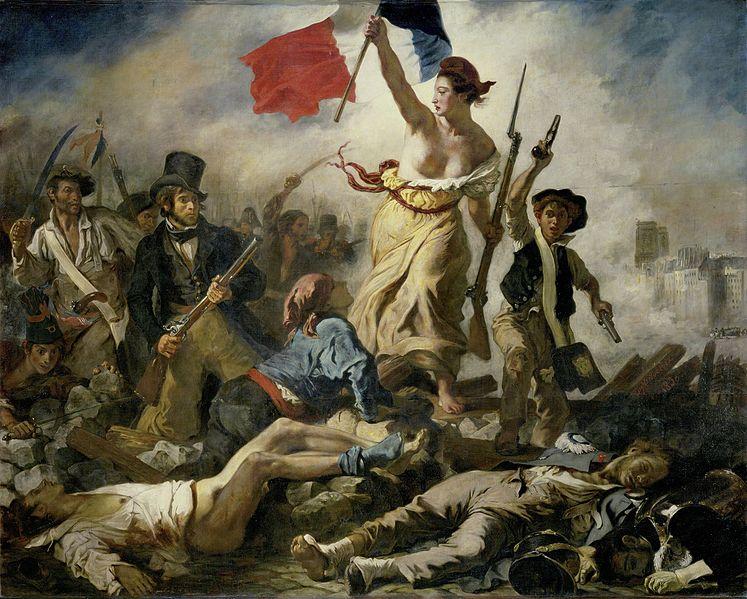 Eugène Delacroix Le 28 Juillet. La Liberté guidant le peuple