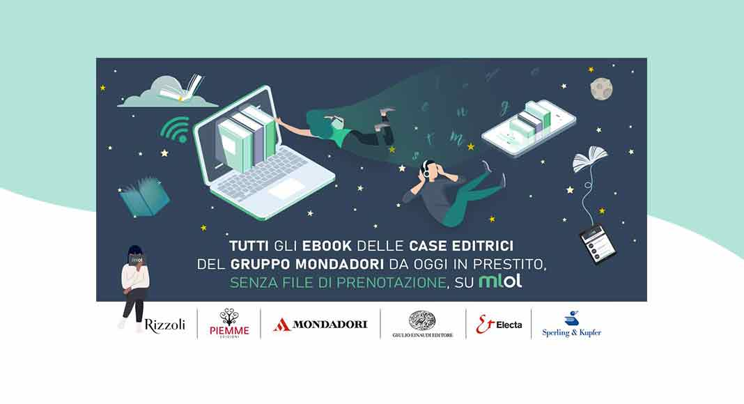 Oltre 20mila ebook Mondadori disponibili gratis nelle biblioteche online