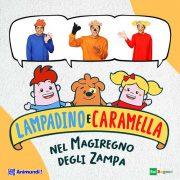 Lampadino e Caramella, il primo cartone animato per bambini autistici