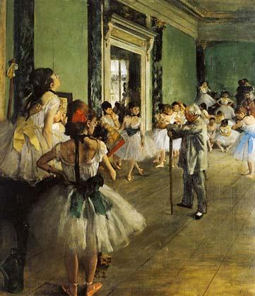 classe danza degas