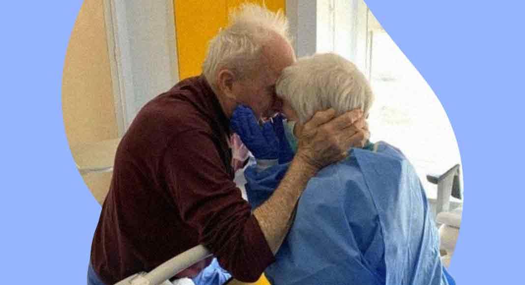 Rosa e Giorgio, la coppia di ricoverati che si rincontra grazie ai medici