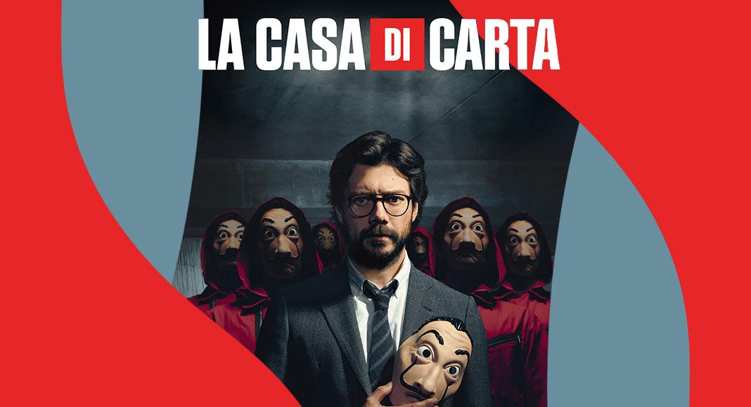 La Casa di Carta, arriva il primo libro ufficiale dedicato alla serie tv