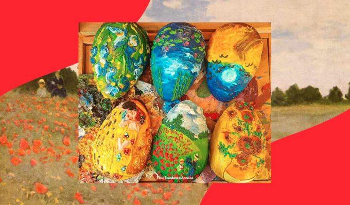 Le uova di Pasqua diventano opere d'arte, ecco la ricetta