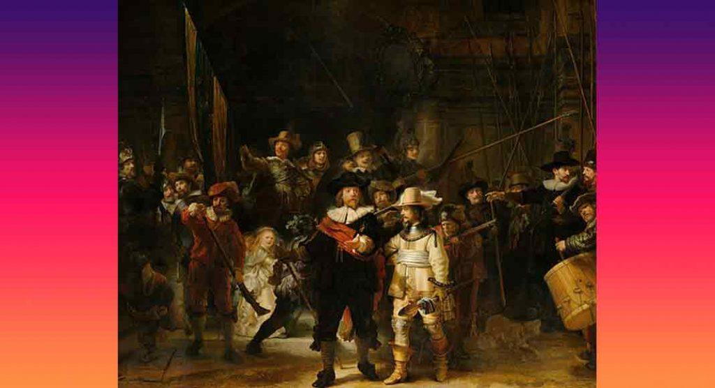 Ronda di Notte di Rembrandt