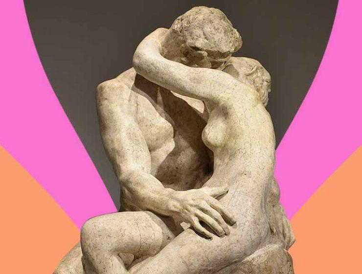 """""""Il Bacio"""" di Rodin, la passione dell'amore scolpita nella pietra"""
