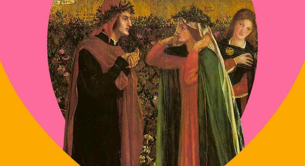 Dante e Beatrice, un amore a prima vista in tenera età