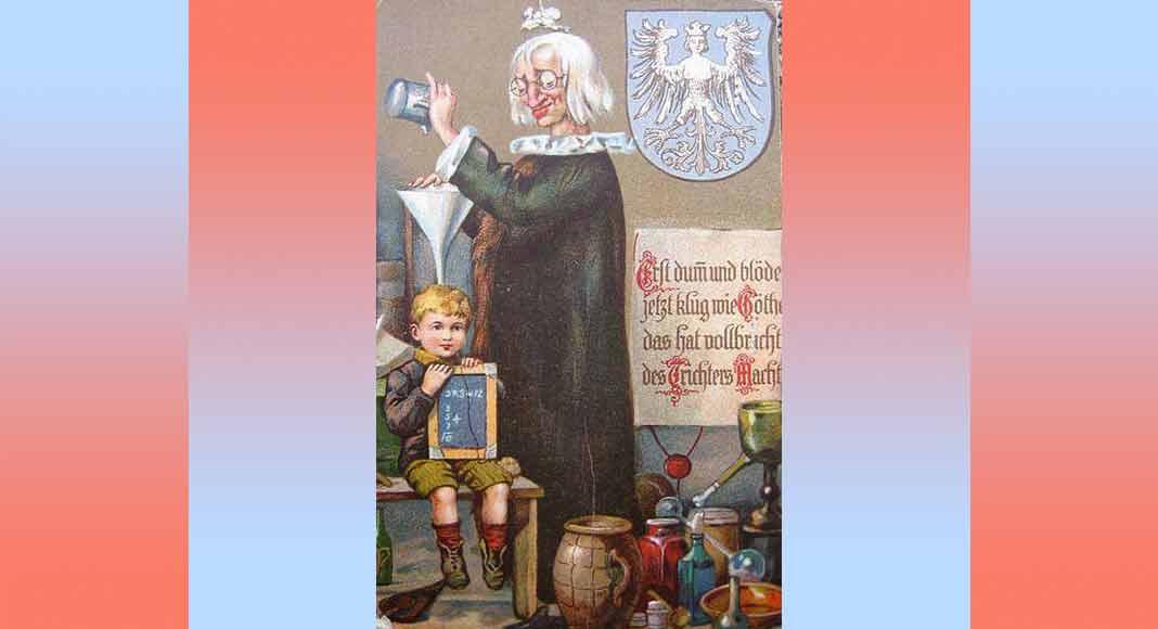 """Cos'è """"l'imbuto di Norimberga"""", la metafora legata all'istruzione"""
