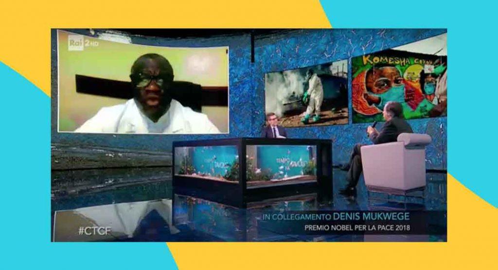 """Il Nobel per al Pace Denis Mukwege, """"Pandemia ci invita a essere più umani"""""""