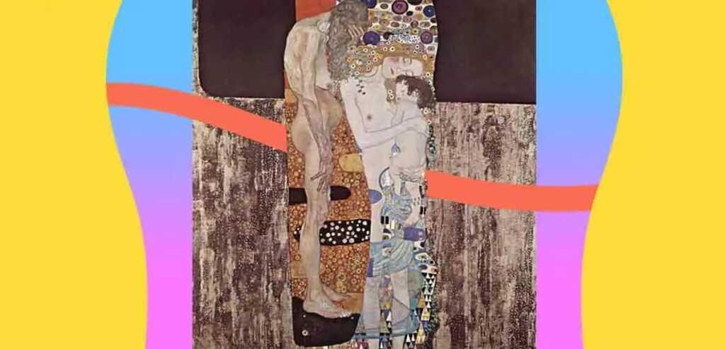 """""""Le tre età della donna"""" di Klimt, l'opera che celebra il legame madre-figlio"""