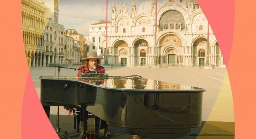 """""""Amore Adesso!"""", il nuovo video di Zucchero in una Venezia deserta"""